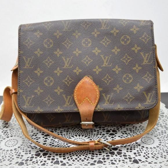 934c9f0b37d1 Louis Vuitton Handbags - Vintage Louis Vuitton Cartouchiere GM CROSS BODY